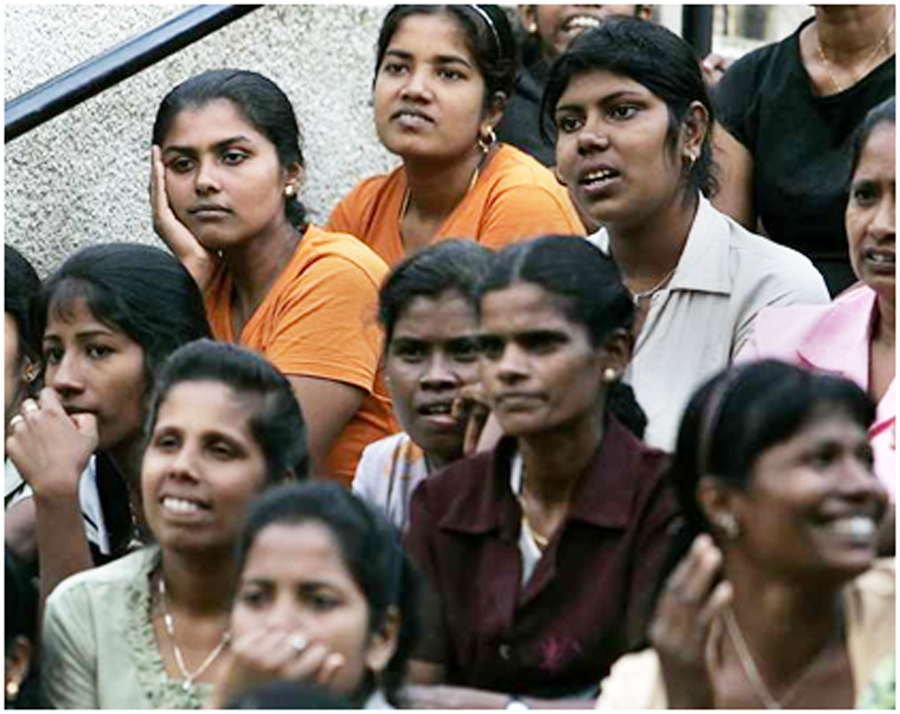 Research Paper on the International Labor Market & Sri Lankan Migrant Workers